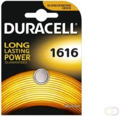 Grijze 10 Stuks Duracell CR1616 lithium batterij