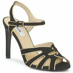 Zwarte Sandalen Moschino MA1604