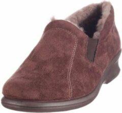 Rohde 2516 - Dames Dames pantoffels - Kleur: Bruin - Maat: 41