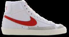 Witte Nike Blazer Mid '77 - Dames Schoenen - White - Leer, Synthetisch - Maat 38.5 - Foot Locker
