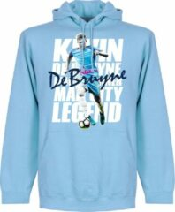 Retake De Bruyne Legend Hoodie - Lichtblauw - XXL