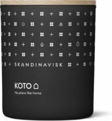 Zwarte SKANDINAVISK CANDLE 200GR - 50U KOTO / HOME