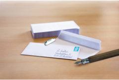 Dienstenvelop Raadhuis 110x220mm DL (EA5/6) wit met plakstrip krimp a 25 stuks