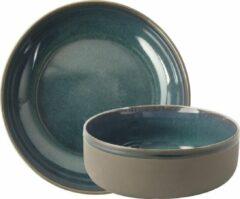 Gusta® Gusta Kom 15x6,5cm Blauw TT Azur