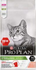 Pro Plan Kat Sterilised Adult 1+ - Rijk aan Zalm - Kattenvoer - 10 kg