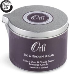 Orli Massagekaars Fig & Brown Sugar - 100% Vegan, biologisch en proefdiervrij