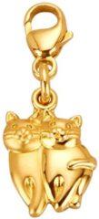 Goudkleurige Bedel Katten KLiNGEL Geelgoudkleur