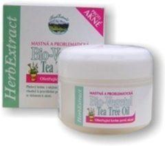HERB EXTRACT® Bio-Vegetal Gezichtscrème met Tea Tree Olie - 50ml