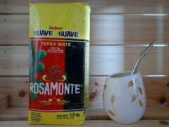 Yerba Mate Rosamonte Suave + Ceramische Kalebas