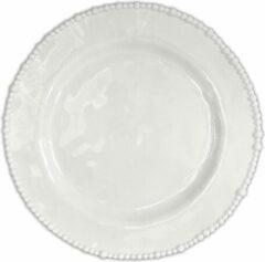 Baci Milano Joke Table & Kitchen kunststof diner borden (6 stuks) D28cm - wit