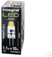 Integral G4 LED 1,1 watt neutraal wit 4000K transparante lens