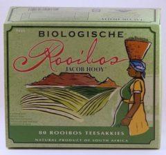 Jacob Hooy Biologische Rooibos Zakjes 80st