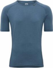 Lichtblauwe Dhb M 200 ondershirt van merinowol (korte mouwen) - Onderkleding