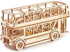 London Bus - Houten Modelbouw / 3D Puzzel - Wooden City