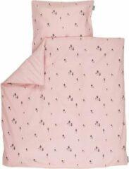Roze PlumPlum Pink gnome dekbedovertrek ledikant 100x140 cm