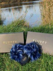 Fluffy's blauw