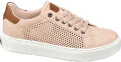 Paarse Bench Dames Roze sneaker perforatie - Maat 36
