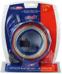 Rode Eve Audio Caliber Accessoire CPK1R - Car audio 5 mm aansluitset / kabelset tot 250 Watt - Autoversterker of actieve subwoofer tot 2 kanaals