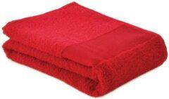 Arowell Sporthanddoek Fitness Handdoek 130 x 30 cm - 500 Gram - Rood (1 stuks)