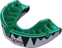 Groene Opro Sportbitje Self-fit Gen4 Platinum Fangz Unisex Groen