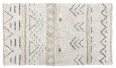 Naturelkleurige Lorena Canals - Wollen vloerkleed- Lakota Day - 80 x 140 cm