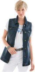 Collection L Jeans-Weste mit längerem Schnitt