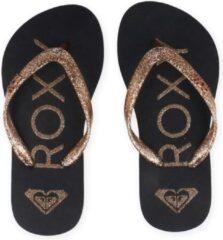 Roxy - Kid's Viva Sparkle Sandals For Girls - Sandalen maat 1, blauw