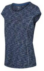 Blauwe Regatta Hyperdimension Dames T-shirt Maat EU36