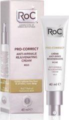 Roc Pro-correct Anti Wrinkle Rejuvenating Cream Rich (40ml)