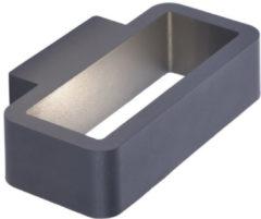 Antraciet-grijze Paul Neuhaus vasso - Wandlamp - 1 lichts - L 220 mm - Antraciet