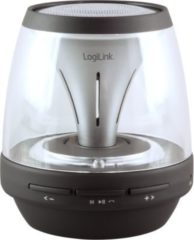LogiLink SP0046 DiscoLady-2go, kabelloser Lautsprecher mit FM Radio und MP3-Player