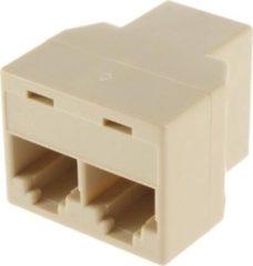 Zwarte IBello Netwerk kabel splitter (RJ45/ISDN)