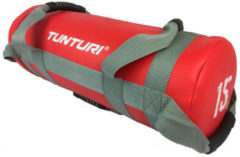 Marcy Tunturi Power bag - Strength bag - Sandbag - Fitness bag - 15 kg - Rood