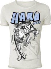 Witte Hotspot Design T-Shirt Hard Lure- Maat L