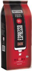 Douwe Egberts gemalen koffiebonen, espresso Dark, pak van 1 kg
