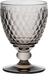 Grijze Villeroy & Boch Boston coloured Rode wijnglas Smoke - 13 cm - 0,31 l