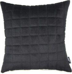 Collectione Kussen Palermo 45 x 45 cm Zwart