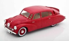 Donkerrode Tatra 87 1937 Dark Red 1-18 MCG Models