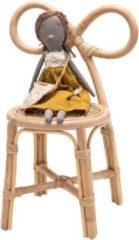 Poppie toys|Poppie Rotan stoeltje met strik