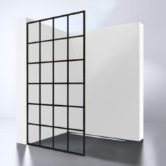 Inloopdouche Best Design Black Screen cm 10mm Nano (IN 2 MATEN VERKRIJGBAAR)