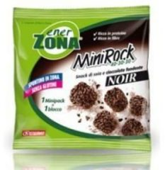 Enerzona Minirock 40-30-30 Snack Soia E Cioccolato Fondente Noir X5bs