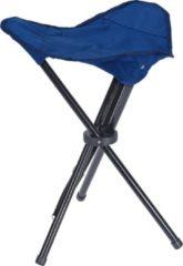 Free And Easy Campingkrukje Donkerblauw 40x13 Cm