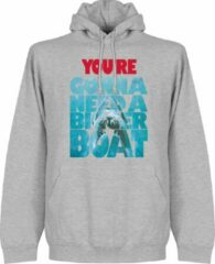 Merkloos / Sans marque You are Going To Need a Bigger Boat Jaws Hoodie - Grijs - M