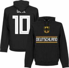 Zwarte Retake Duitsland Özil 10 Team Hooded Sweater - XXL