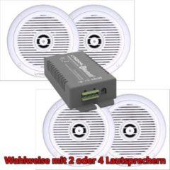LYNDAHL Lautsprecher-Set, CS200BT-AMP und CS180IP, mit 2 oder 4 Lautsprechern Größe: mit 2 Lautsprechern