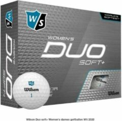 Wilson Staff Wilson Duo soft+ Women's dames golfballen Wit