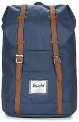 Blauwe Herschel Supply Co.-Laptoptassen-Retreat Backpack-Blauw