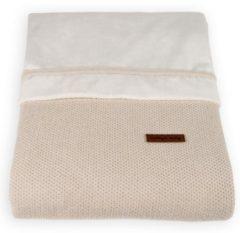 Zandkleurige Baby's Only ledikant dekbedovertrek 100 x 135 Classic Sand Ledikant dekbedovertrek Classic Sand
