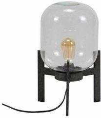 LifestyleFurn Tafellamp 'Jacki' met glazen kap en industriële driepoot