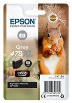 Epson 478XL - hoge capaciteit - grijs - origineel - inktcartridge (C13T04F64010)